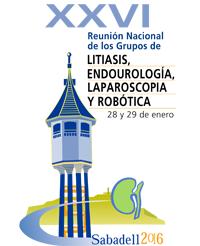 28 y 29 de Enero 2016- Participación en la XXVI Reunión Nacional de los Grupos de Litiasis y de Endourología, Laparoscopia y Robótica de la AEU